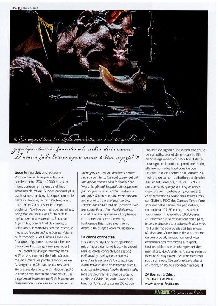 Article Tout Clermont 2019 p3