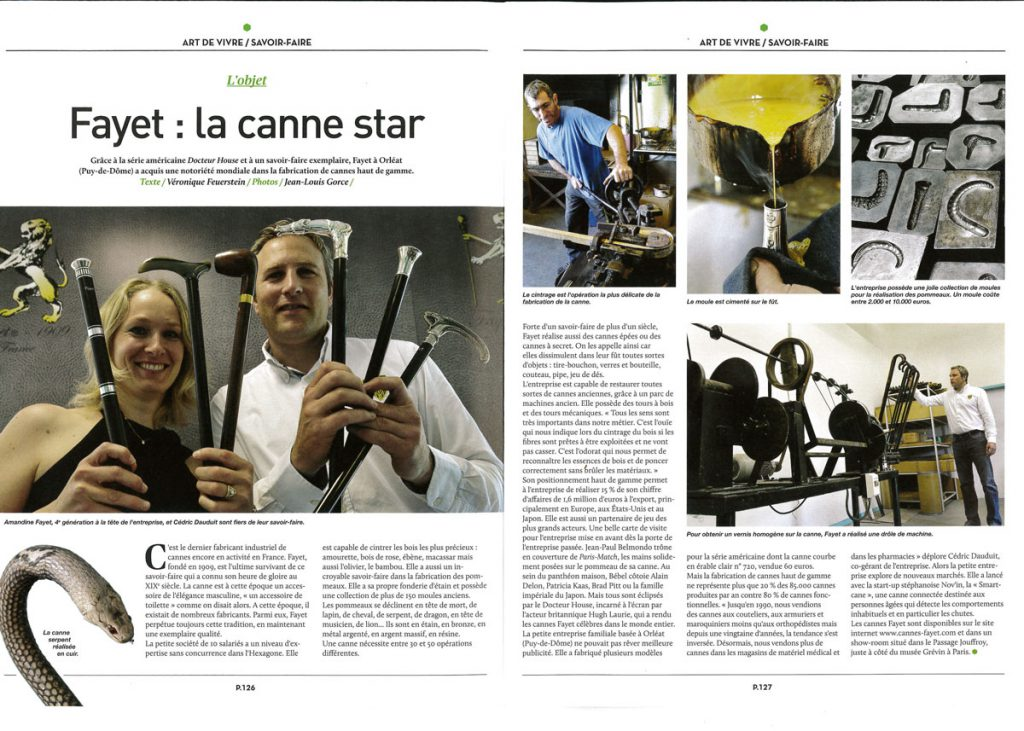 Article Massif Centrale Cannes Fayet 2017