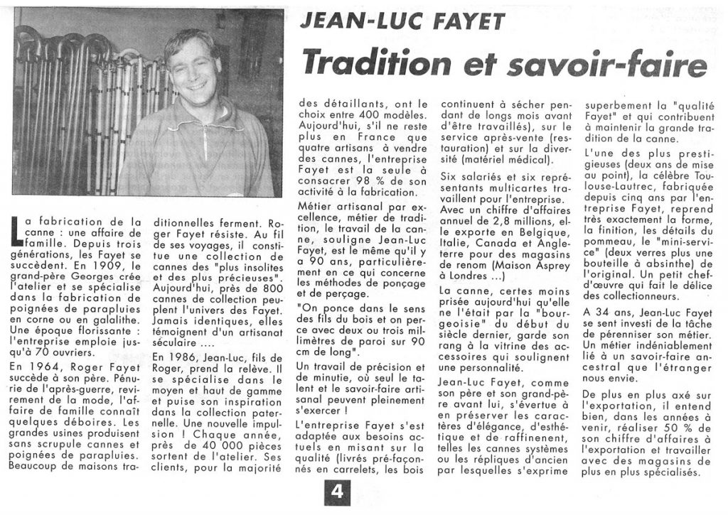 Presse 1993 Jean Luc Fayet