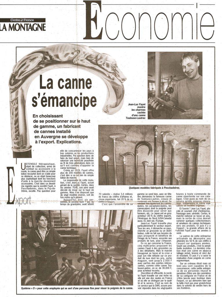 La Montagne 1995 Cannes Fayet